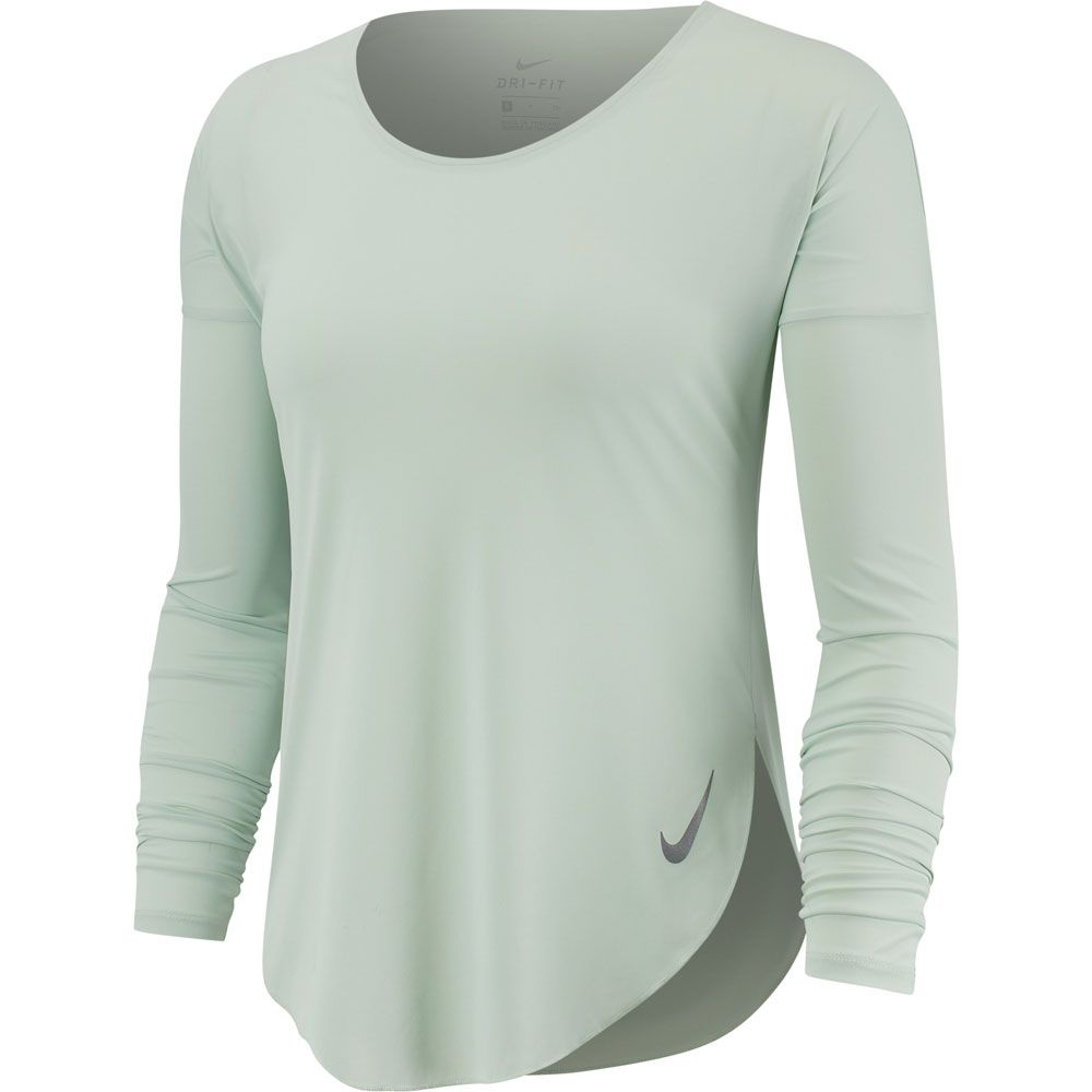 nike running top weiß damen
