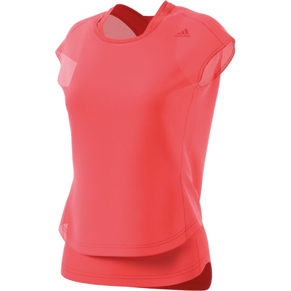 504665066 adidas - Supernova Tko 2 Layer Short Sleeve Tee Women easy coral at ...