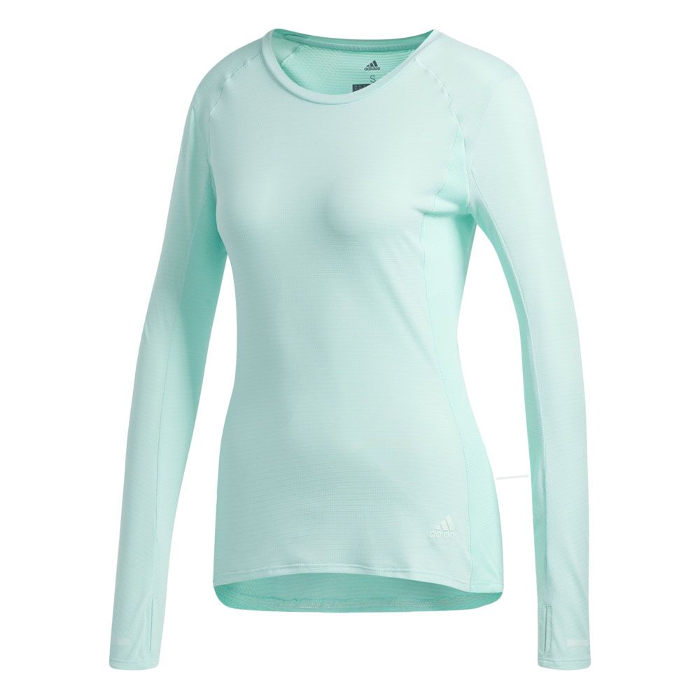 adidas Supernova Longsleeve Shirt Women clear mint at