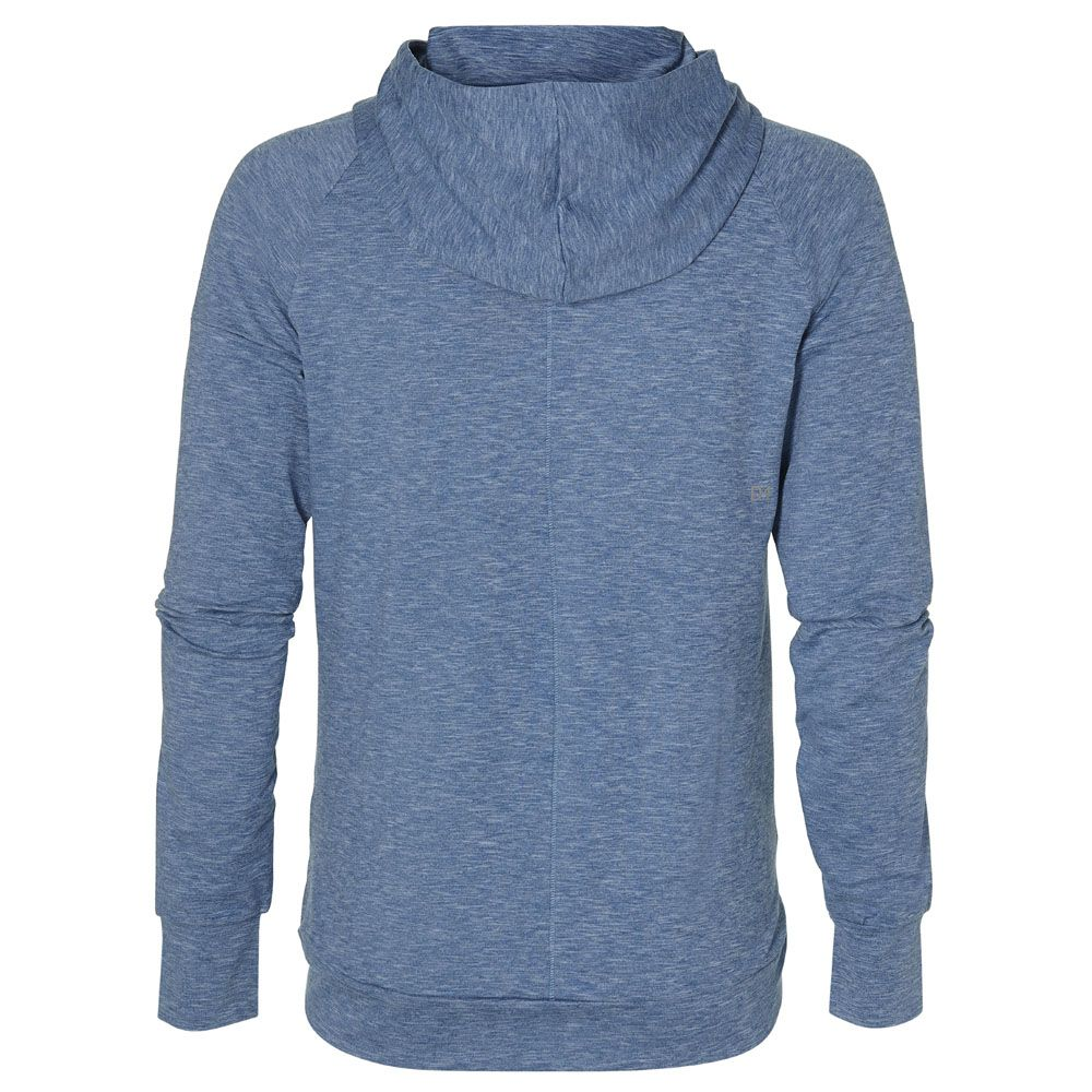 aada88507 ASICS - Sweat PO Hoodie Damen azure heather at Sport Bittl Shop