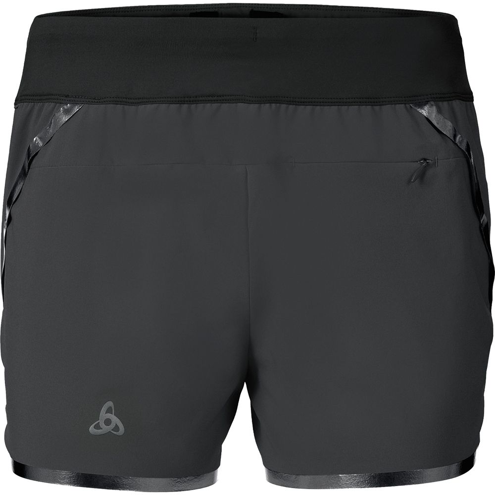 38b4cd2711e369 Odlo - Samara Shorts Running Damen odlo graphite grey kaufen im ...