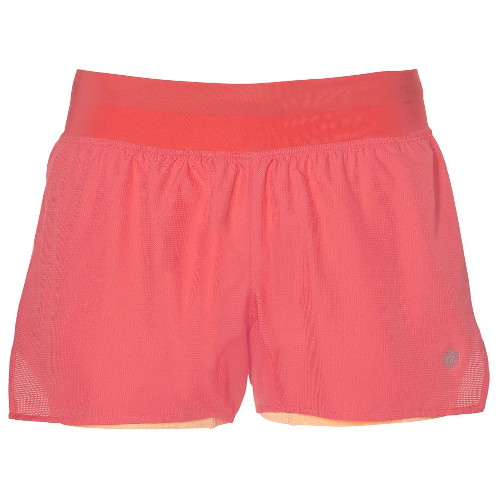 ASICS - Cool 2-N-1 3.5IN Short Women coralicious at Sport ...