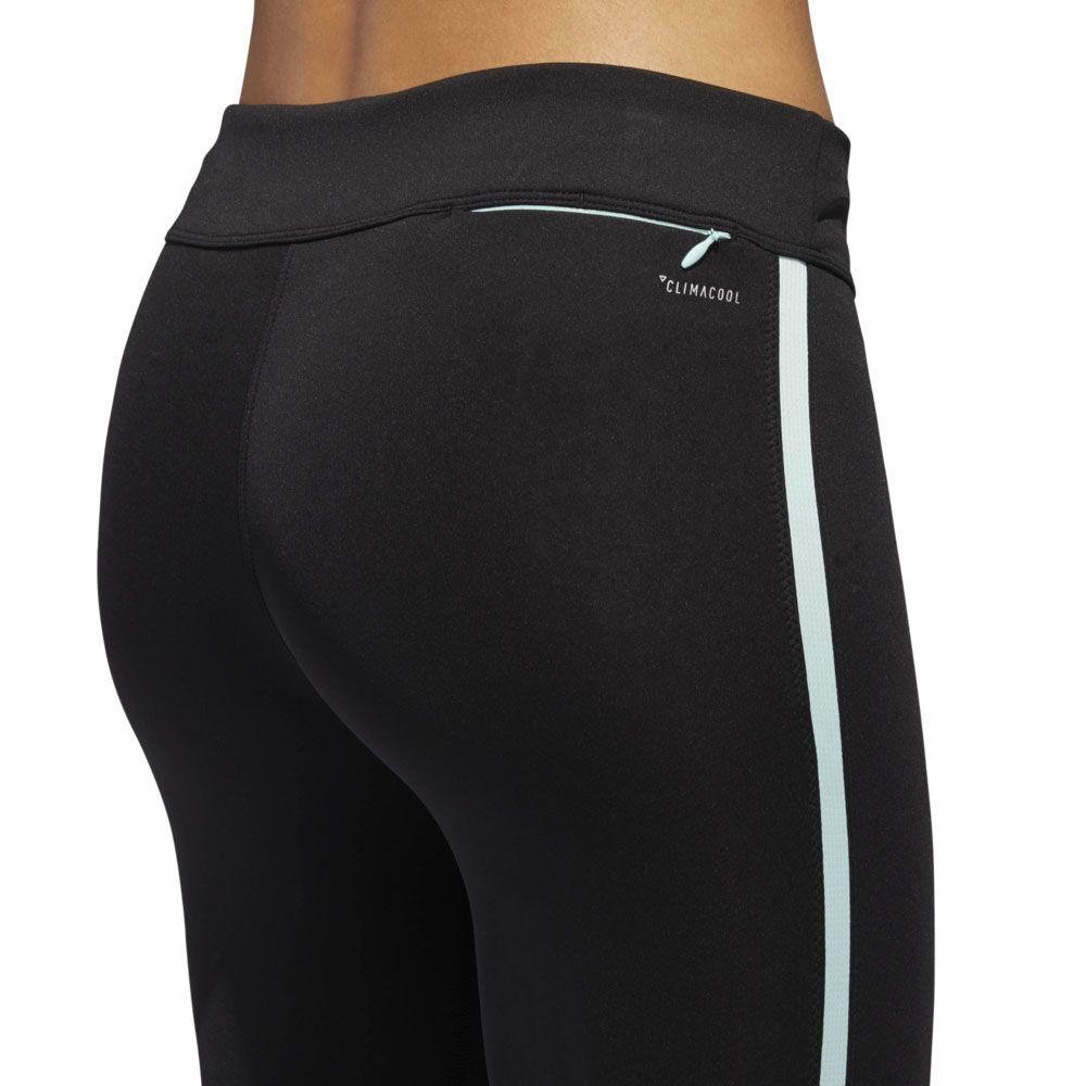 f0cbf7c0d3e84 adidas - Response 3/4 Running Tights Women black clear mint at Sport ...