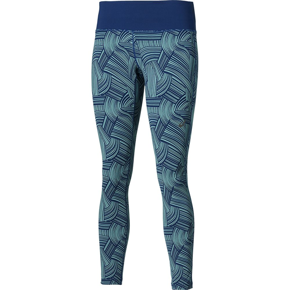 209e1edd82bf7c ASICS - FuzeX Graphic Tights 7/8 Women kingfischer at Sport Bittl Shop