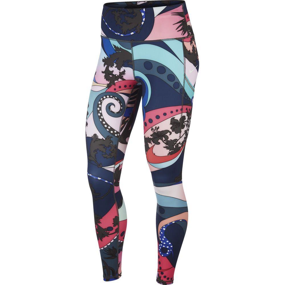 Alacena Hizo un contrato emoción  Nike - Icon Clash Epic Luxe Tights Damen hyper pink black white at Sport  Bittl Shop