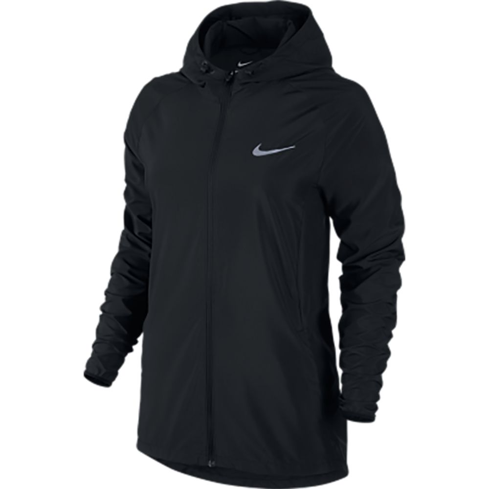 nike essential jacke damen black kaufen im sport bittl shop. Black Bedroom Furniture Sets. Home Design Ideas
