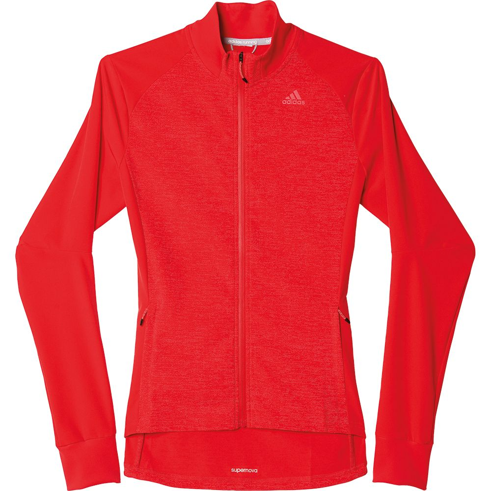 adidas supernova storm jacket damen ray red kaufen im sport bittl shop. Black Bedroom Furniture Sets. Home Design Ideas