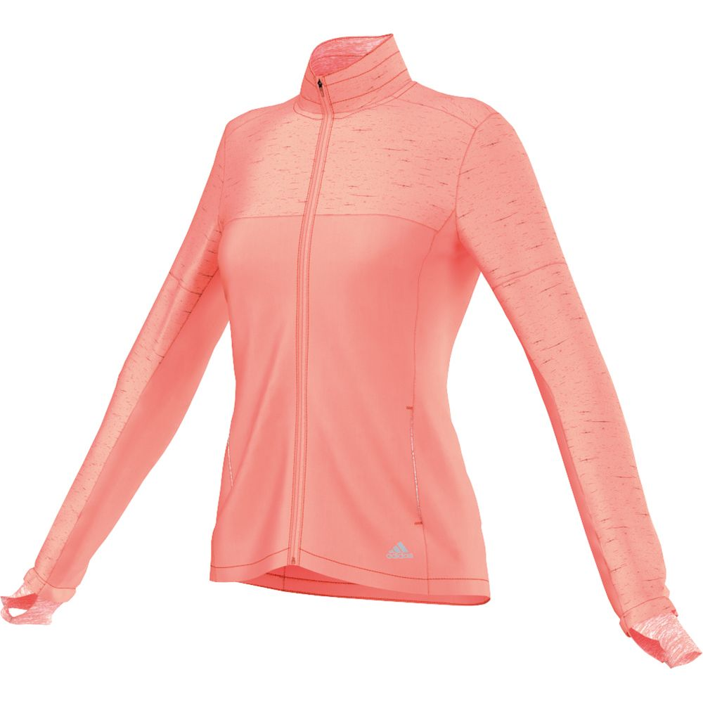 adidas - Supernova Storm Jacket Women orange at Sport Bittl Shop