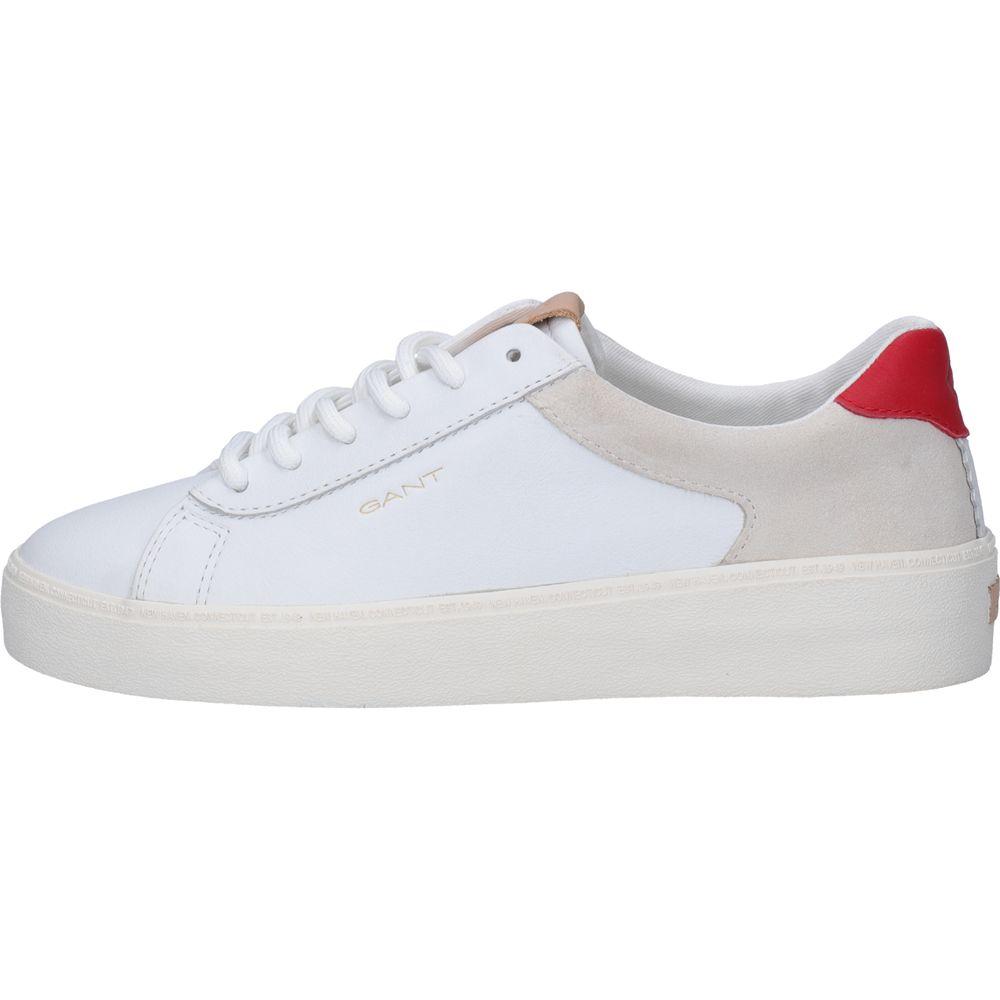 geschickte Herstellung UK Verfügbarkeit Schuhwerk Gant - Lagalilly Sneaker Damen weiß rot kaufen im Sport Bittl Shop