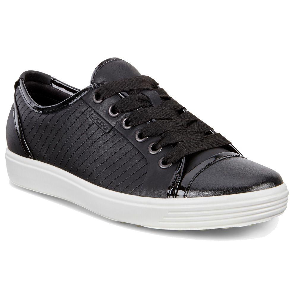 ecco soft 7 sneaker damen schwarz kaufen im sport bittl shop. Black Bedroom Furniture Sets. Home Design Ideas
