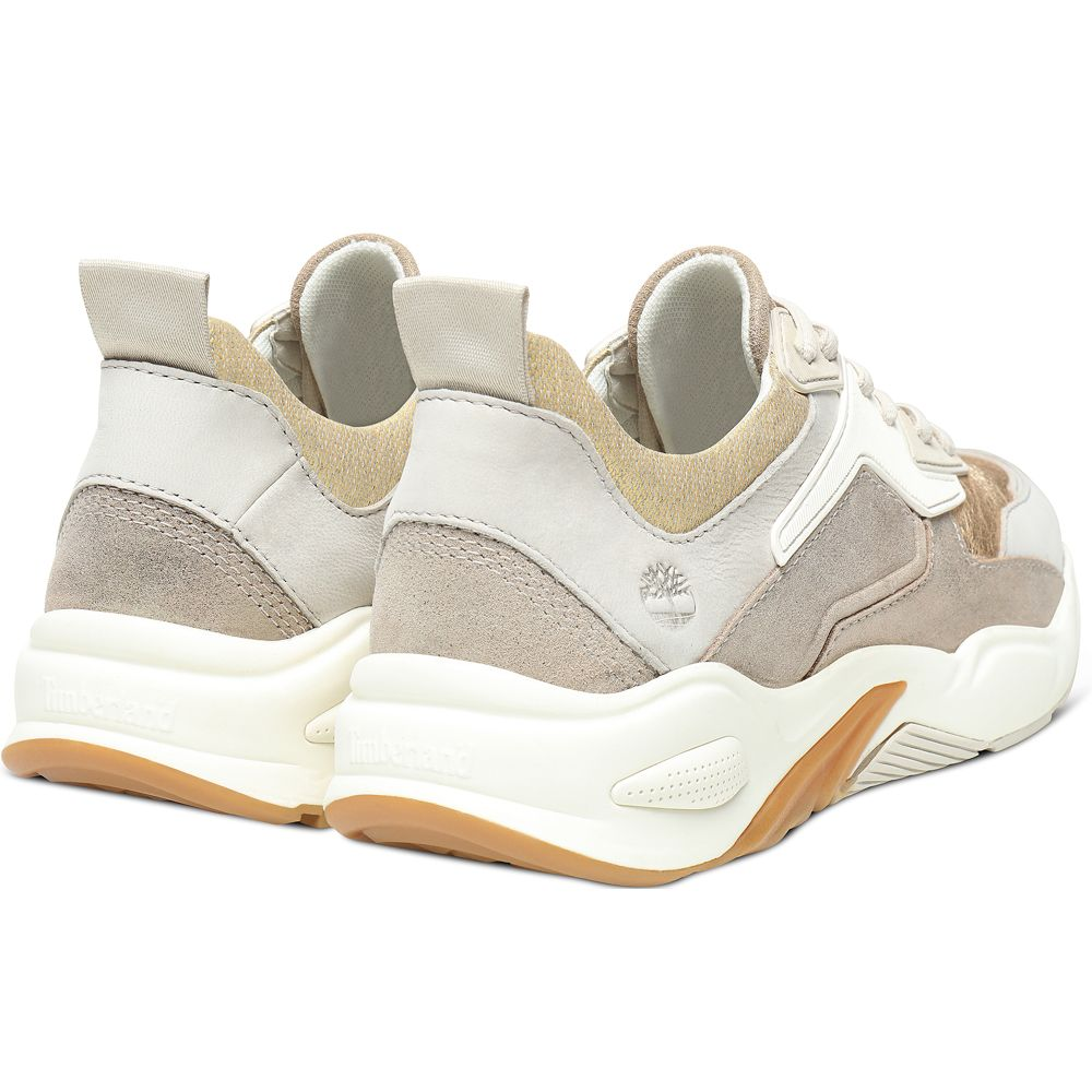 Delphiville Sneaker Women gold suede at