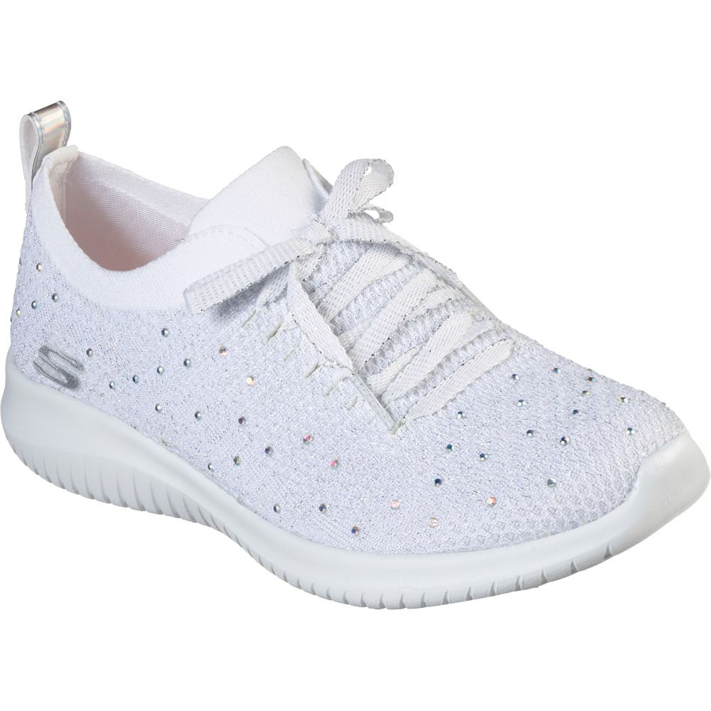 Skechers Ultra Flex Strolling Out Sneaker Damen weiss