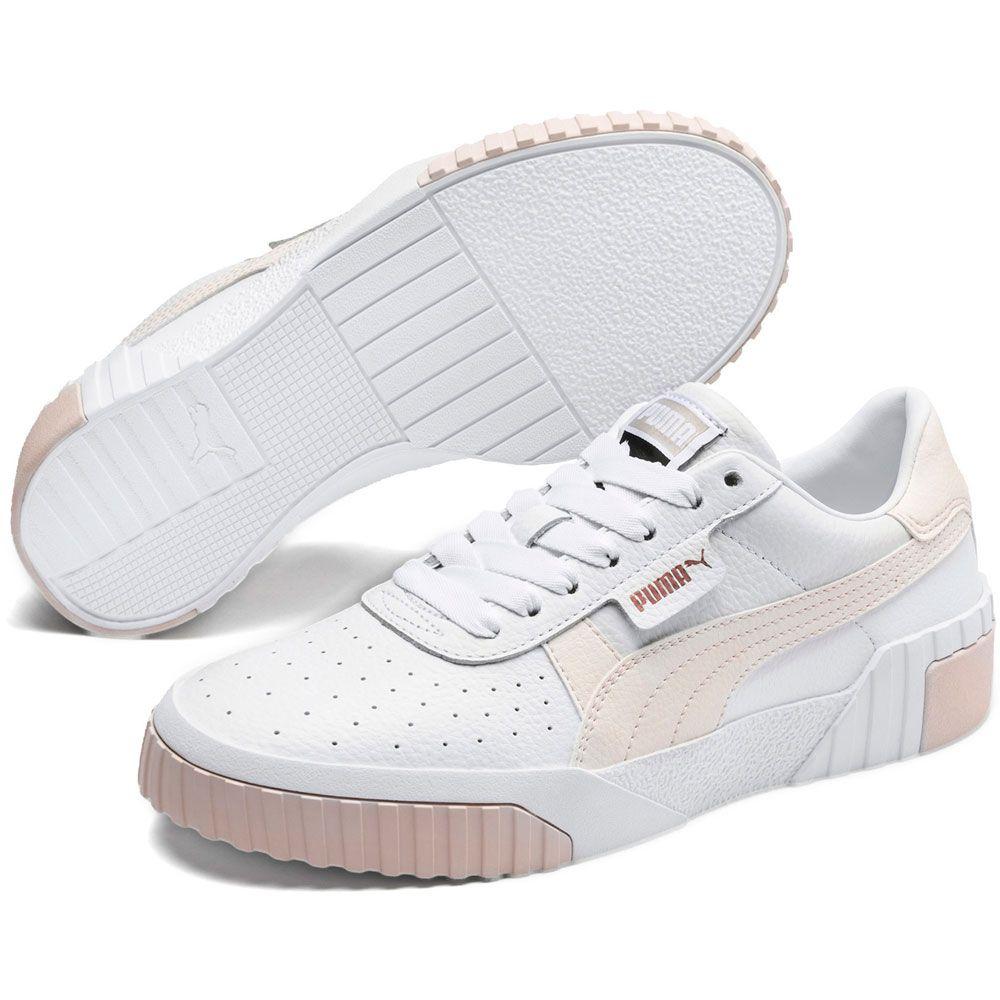 Puma Cali Wn's Sneaker Damen puma white rosewater