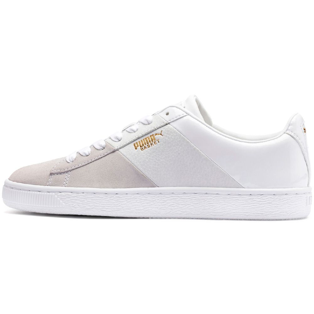 revendeur 5c8cd c2c71 Puma - Basket Remix Wn's Sneaker Women puma white puma team gold