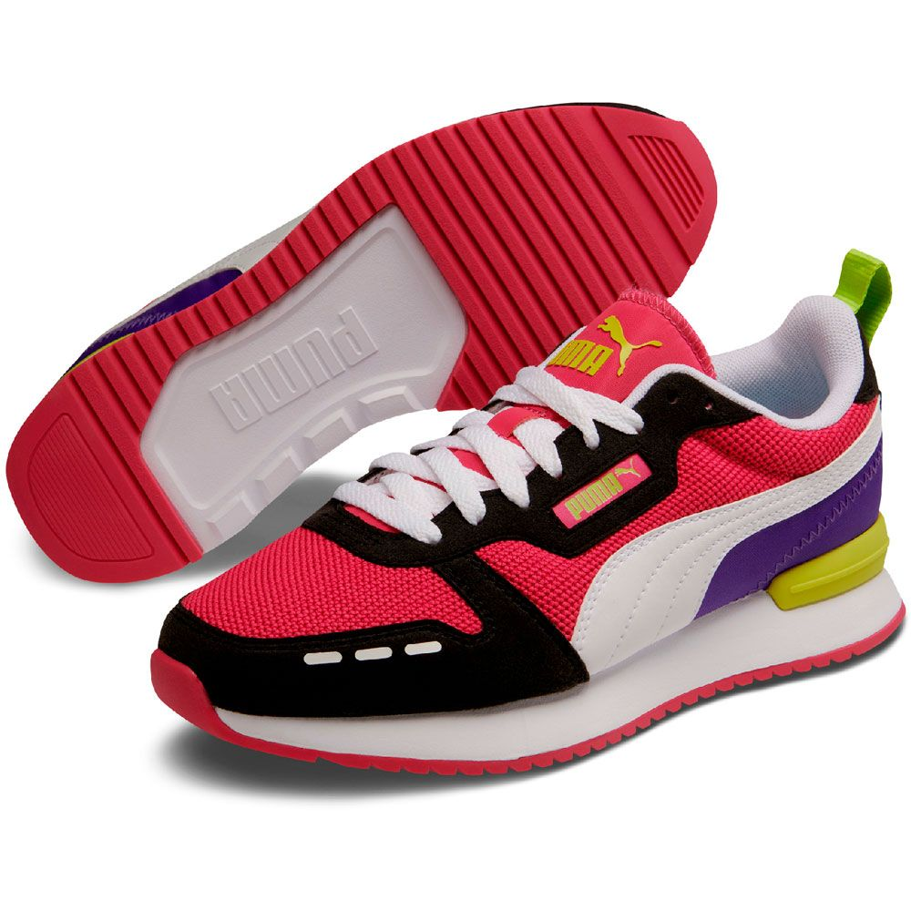 Puma R78 Sneaker Damen beetroot purple puma black puma