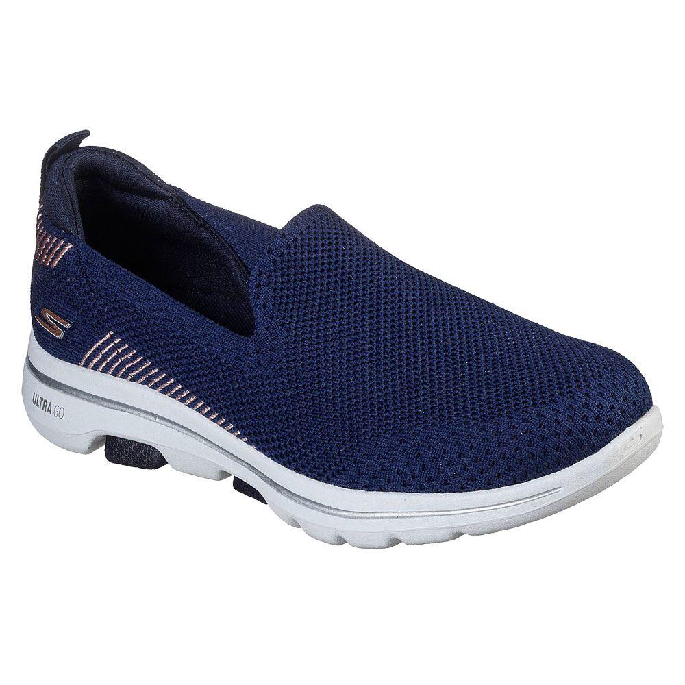 Skechers Go Walk 5 Prized Sneaker Damen blau
