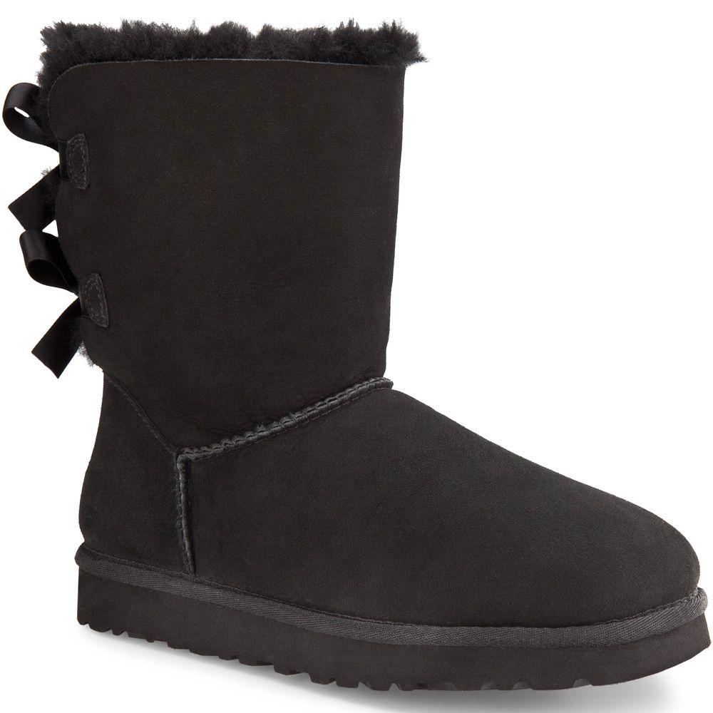 32a01c6460a3a5 UGG Australia - Bailey Bow Stiefel Women black at Sport Bittl Shop