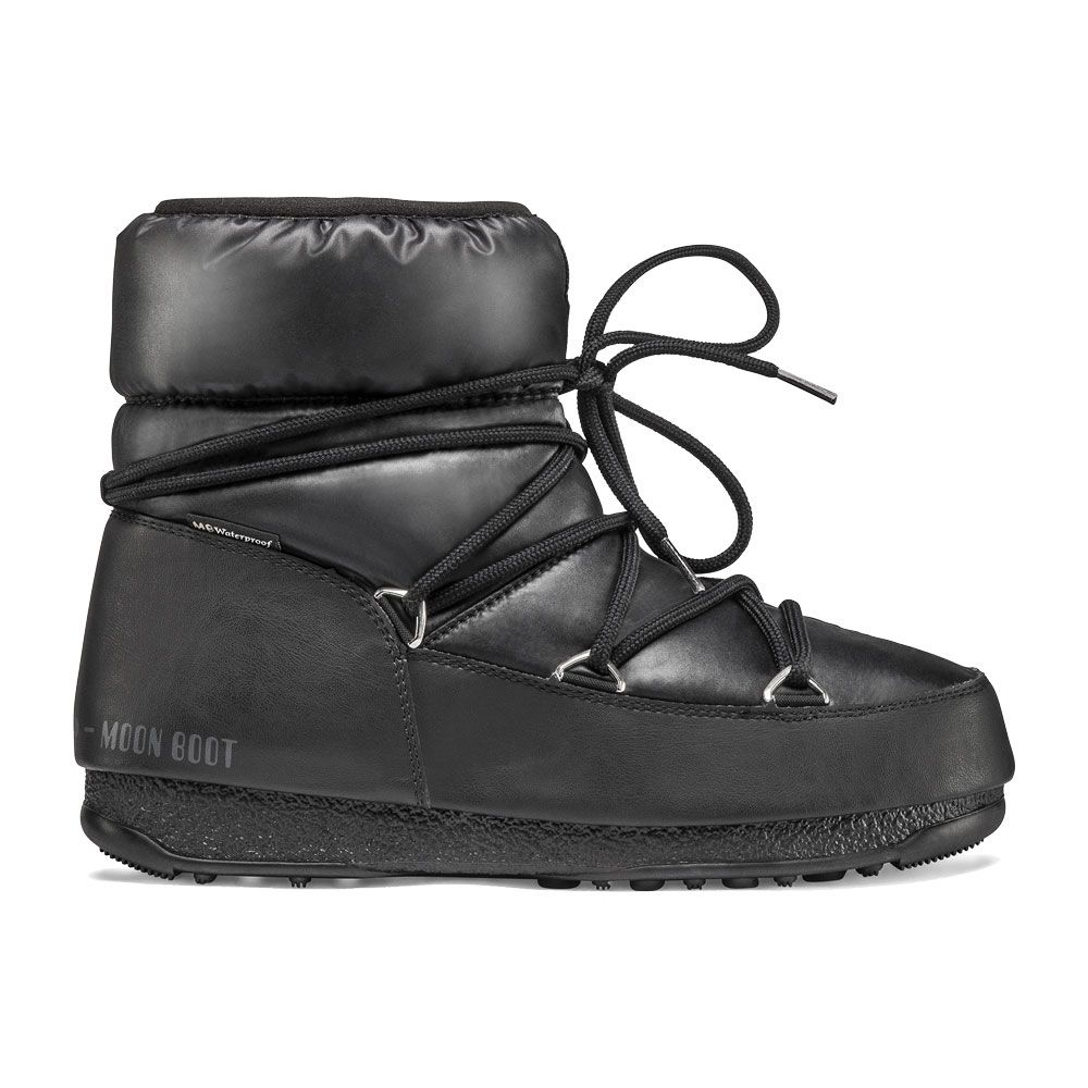 outlet store 343be 926bd Moon Boot - Moon Boot Low Nylon WP 2 schwarz