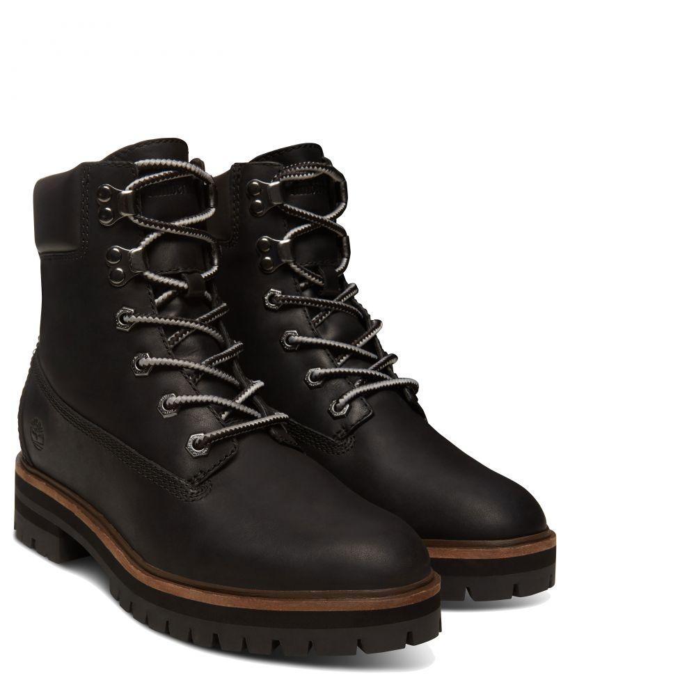 timberland london square 6in boots damen schwarz kaufen. Black Bedroom Furniture Sets. Home Design Ideas
