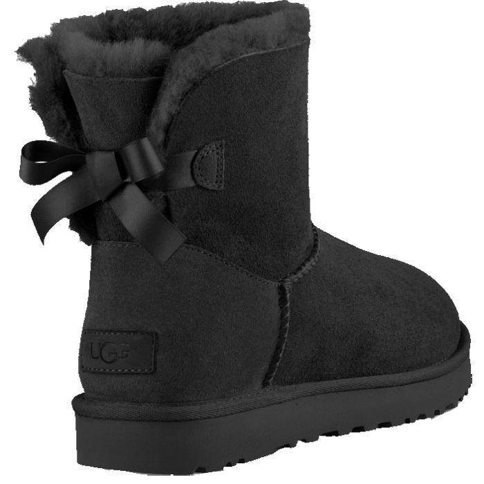 UGG - Mini Bailey Bow Boots Women black
