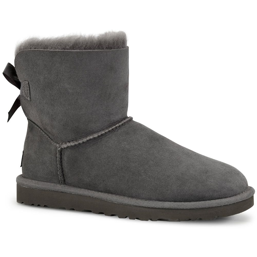 UGG Australia Mini Bailey Bow Boot Women grey at Sport