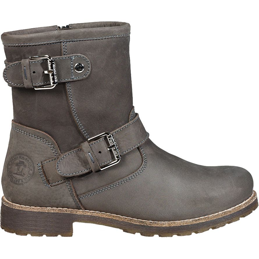 5648cd27b29 Panama Jack - Felina Igloo B9 Leather Ankle Boots Women grey at ...