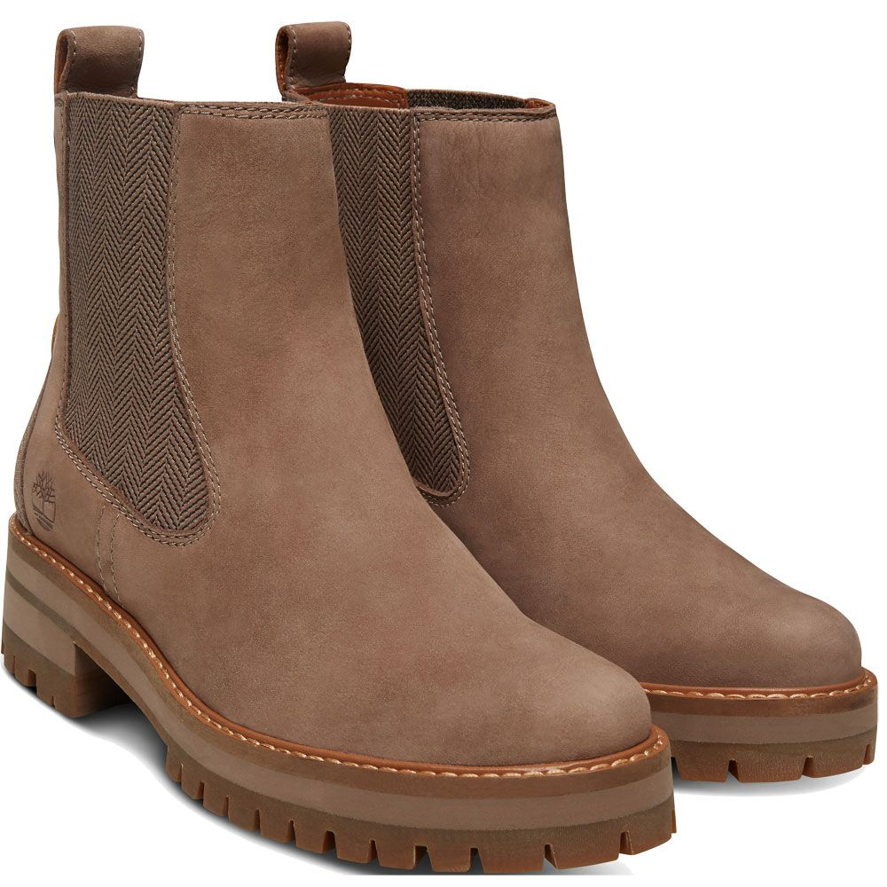 ed81adee88 Timberland - Courmayeur Valley Chelsea Boots Women taupe grey nubuck ...