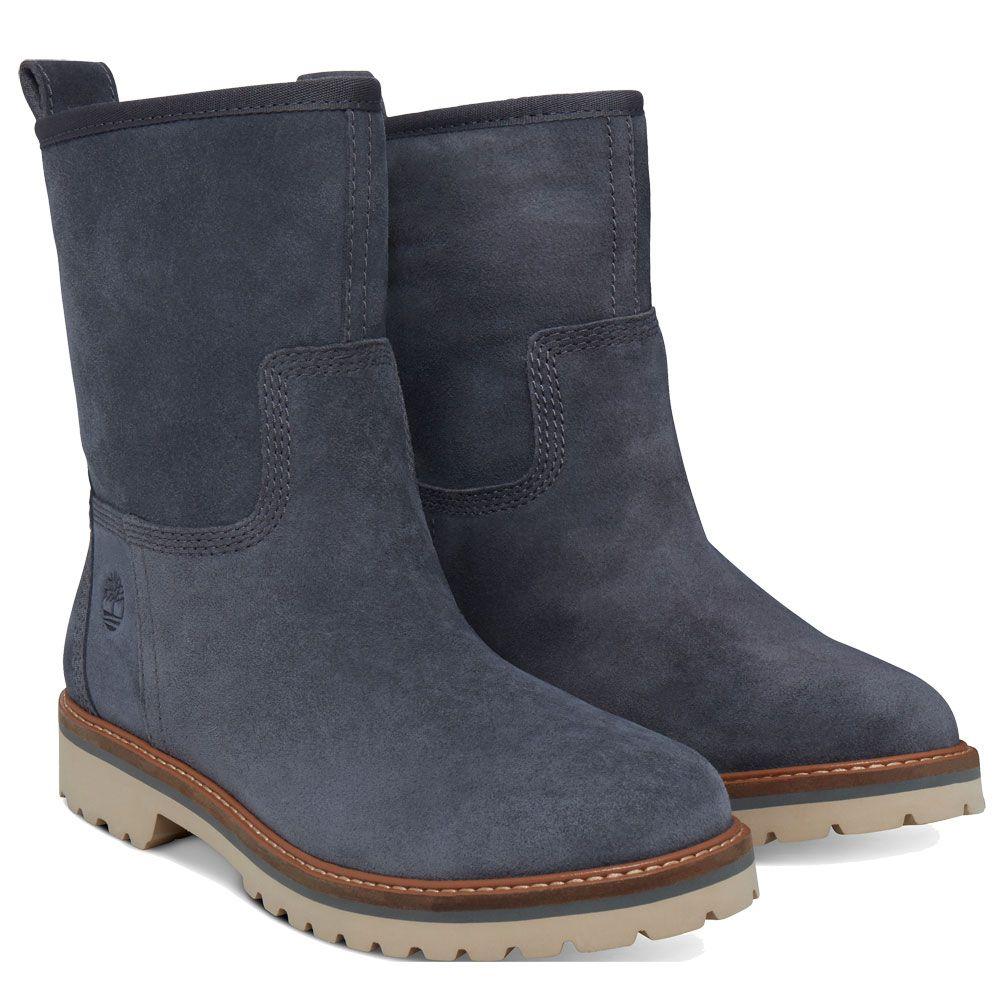 Timberland - Chamonix Valley WP Boots Women dark grey suede at Sport ... 50407476bd