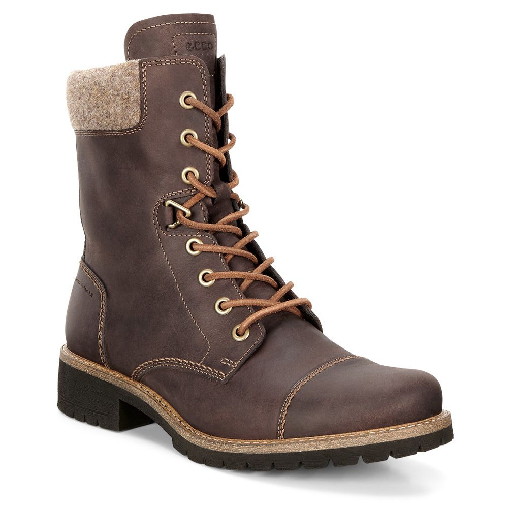 Ecco Elaine Winter Boots Women mocha at Sport Bittl Shop