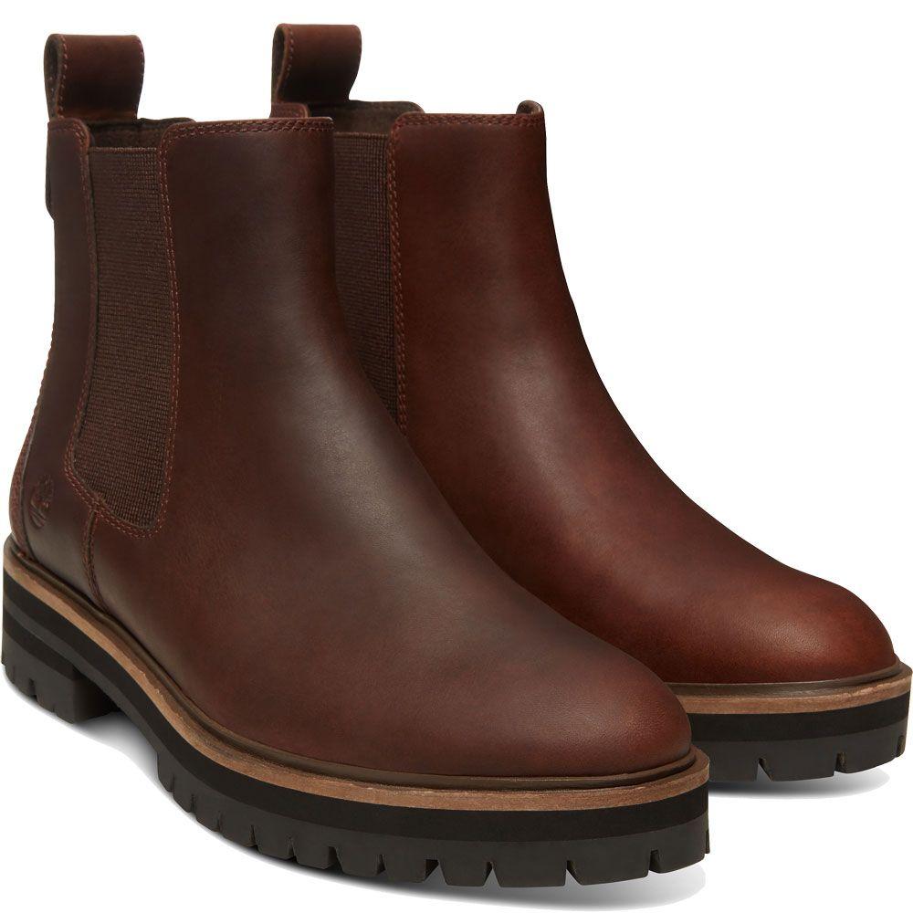 Timberland London Square Chelsea Boot Damen dark rubber mincio