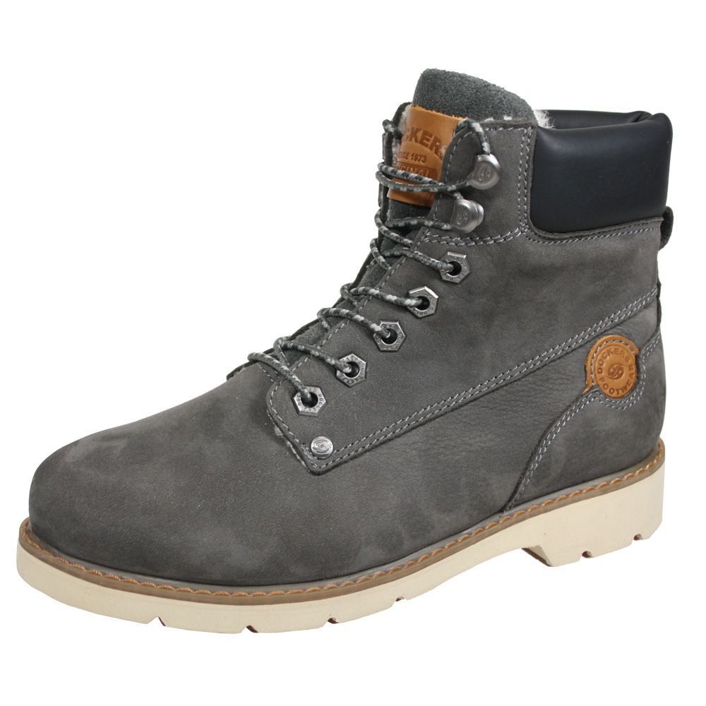 Boots Grey Grey Dockers Boots Dockers Leather Leather Dockers Women Leather Women Boots tBCsrxhQd