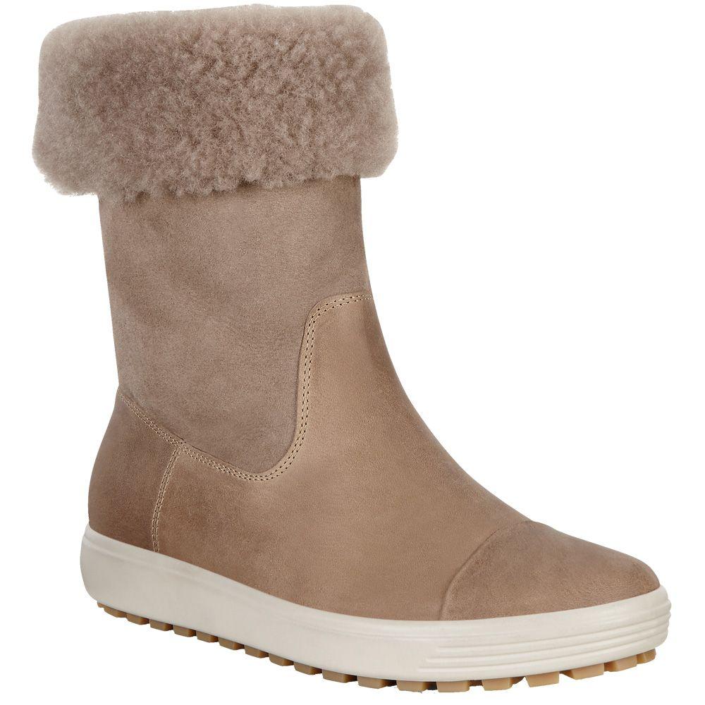 Ecco Soft 7 Tred Boots Women navajo brown moon rock