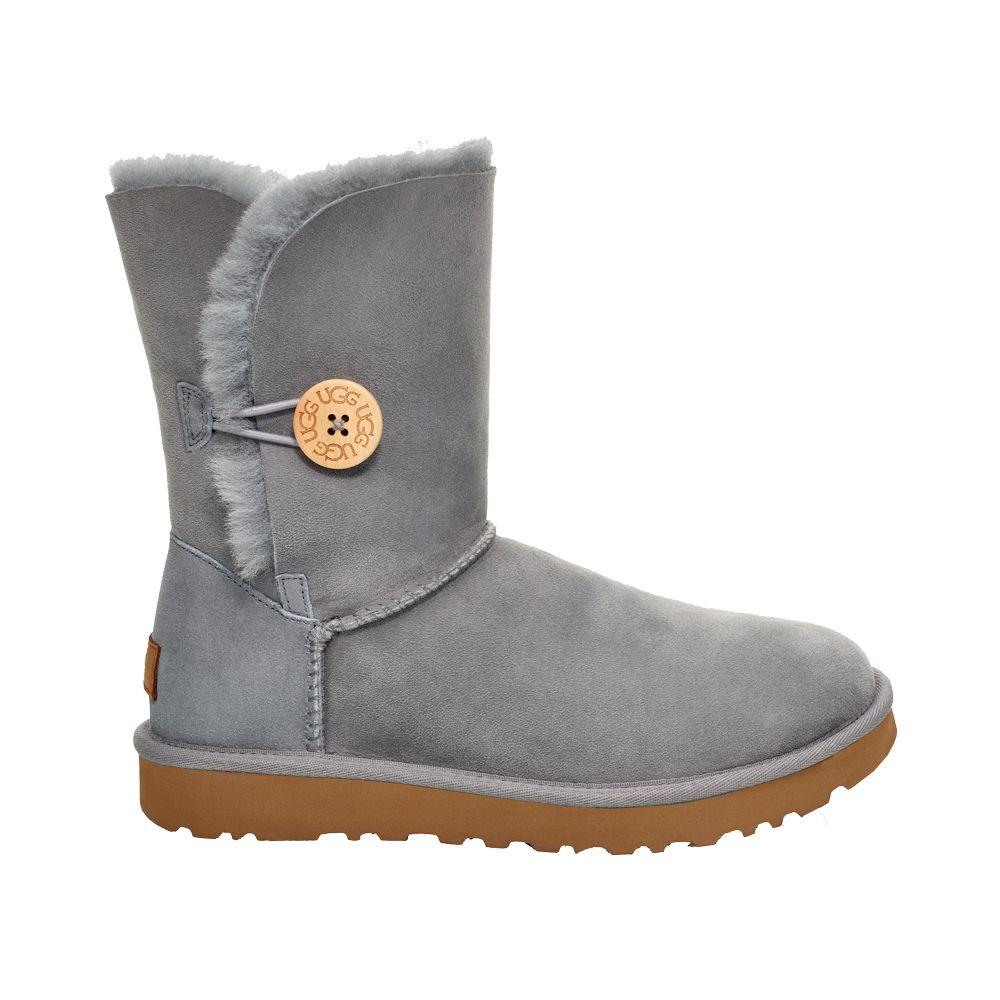 UGG Australia Bailey Button Boot Damen grau