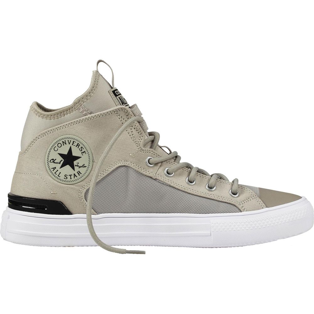 8f11d18f37f5 Converse - Chuck Taylor All Star Ultra MID pale grey black white at ...