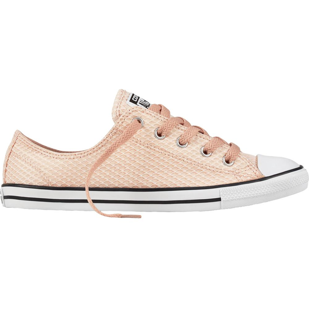 16f432d5681916 Converse Chuck Taylor All Star Dainty OX Reptile Woven particle beige white