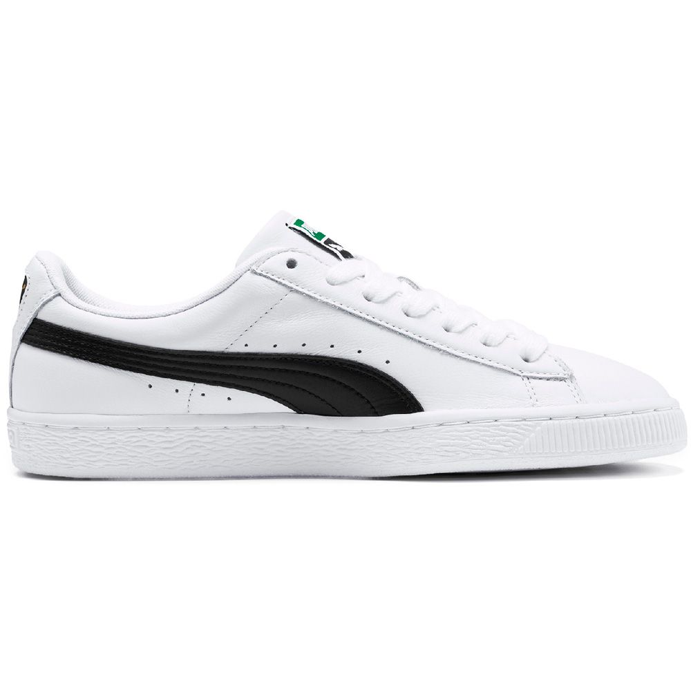 reputable site eb130 83d2b Puma - Heritage Basket Classic Sneaker Men white black