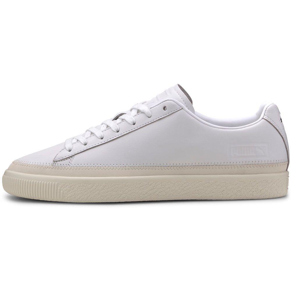 Basket Trim PRM Sneaker Men puma white