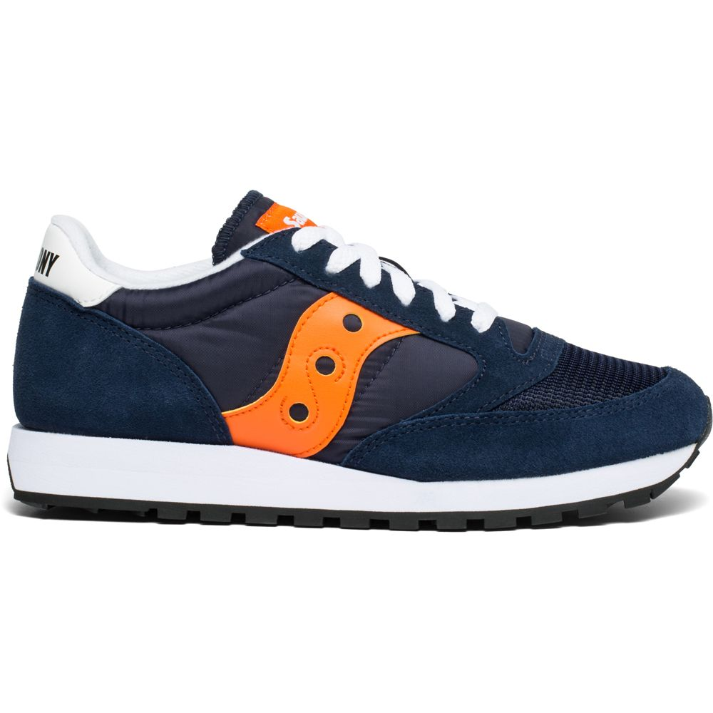 super popular 3cba6 69518 Saucony - Jazz Original Vintage Sneaker Men navy orange