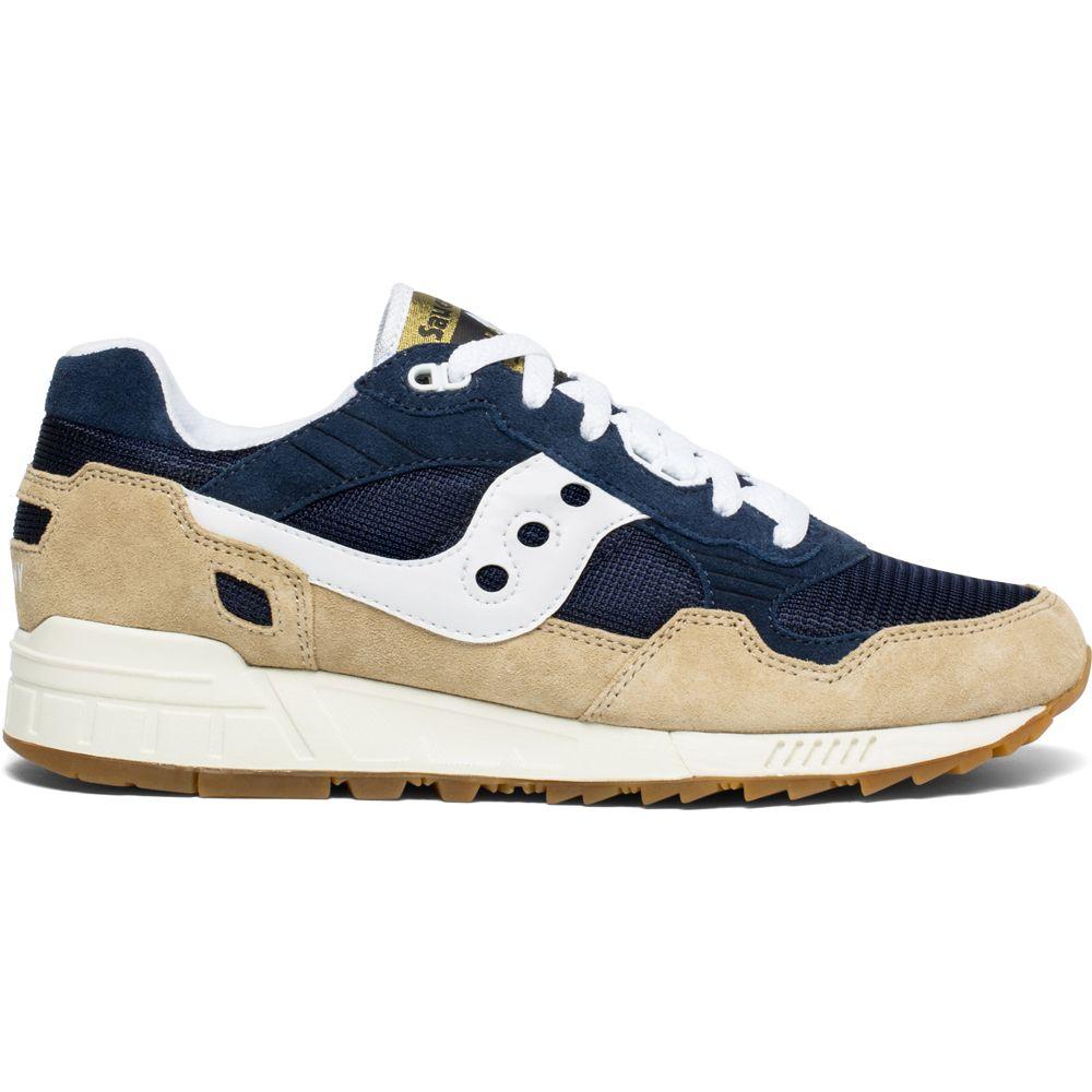 Shadow 5000 Sneaker Men tan navy white
