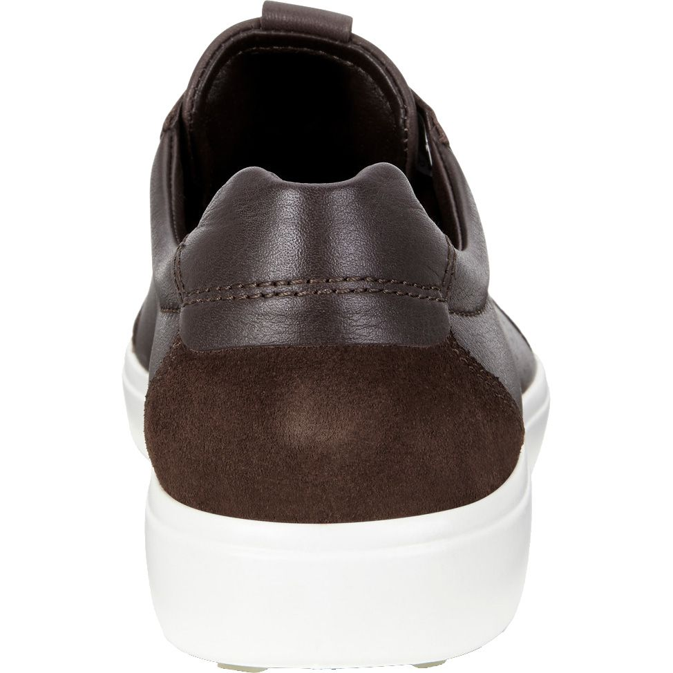 d42f9a2414 Ecco - Soft 7 M Sneaker Men coffee mocha suede