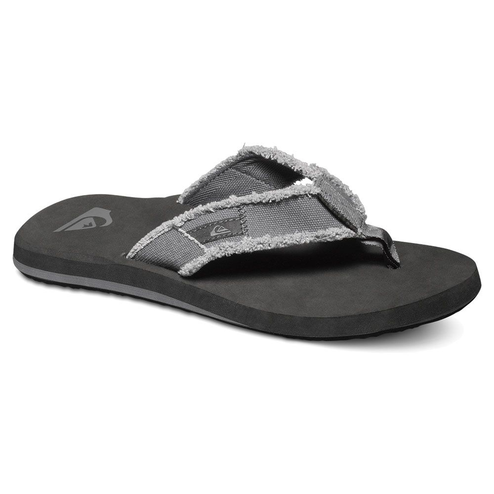 d34693dff195db Quiksilver - Monkey Abyss Flip Flops Men grey black brown at Sport ...