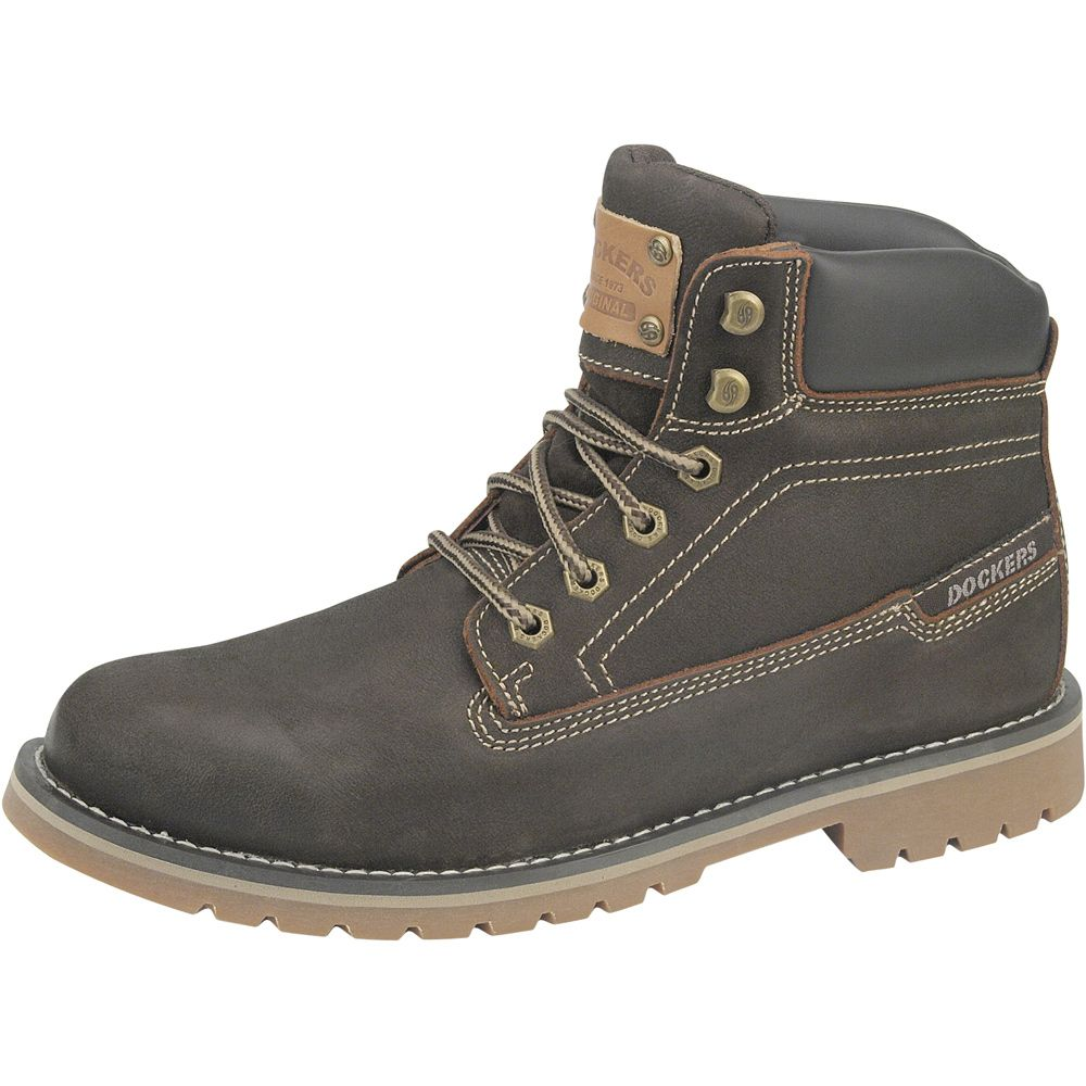 competitive price 041a0 3f5df Dockers - Leather Boots Men brown