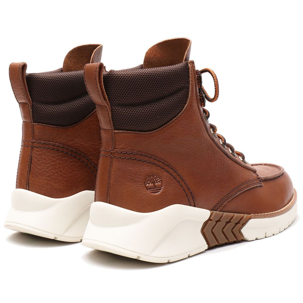 MTCR Mocassin Toe Boots Herren saddle brown
