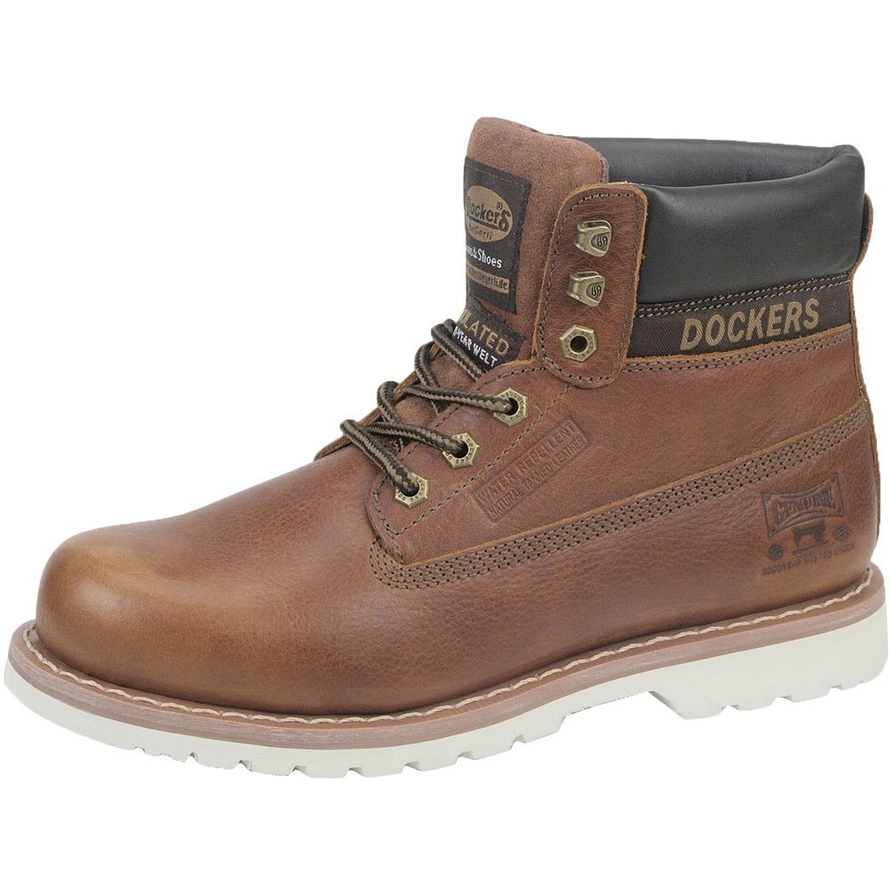 competitive price d79b8 fe9b0 Dockers - Leather Boots Men brown