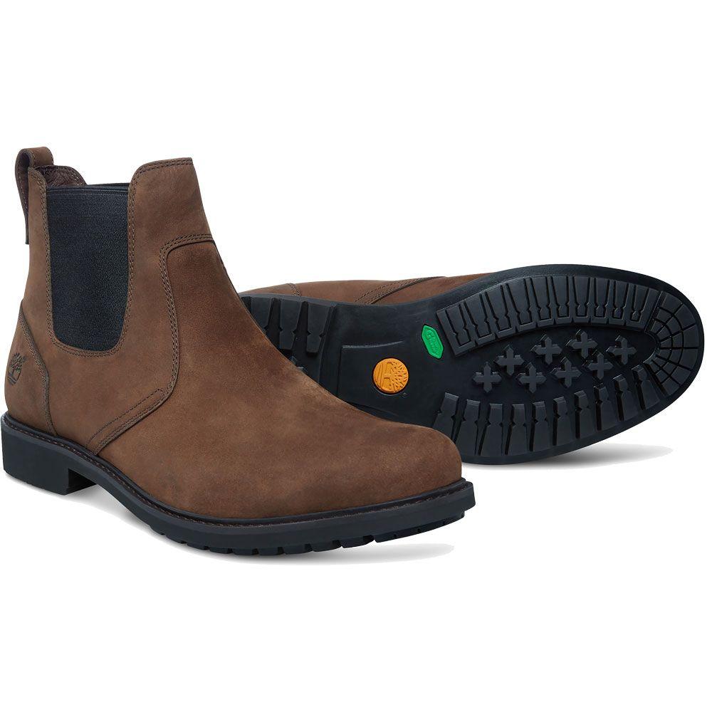 Timberland Ekstormbucks Chelsea Boots Herren burnished dark brown oiled