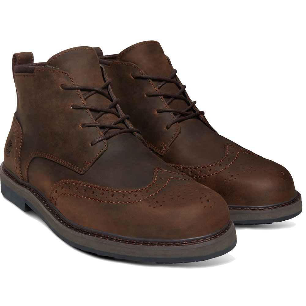Timberland Squall Canyon Chukka Herren potting soil saddleback