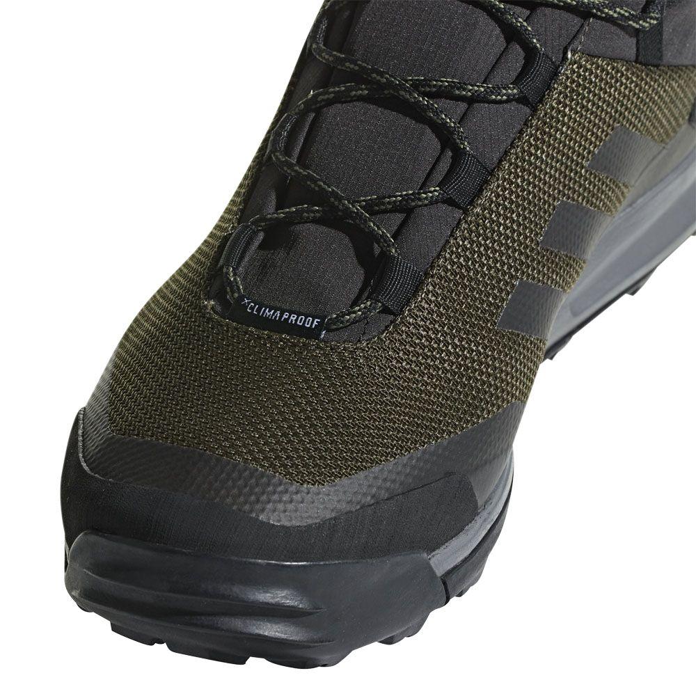 adidas Terrex Tivid Mid ClimaProof Hiking Boots Men night cargo core black grey four
