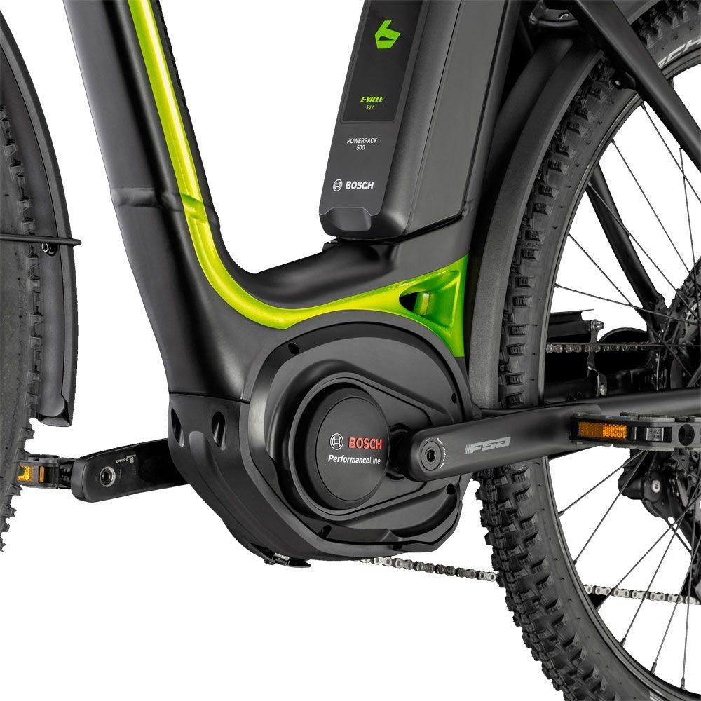 E-Ville SUV Step-Trough Frame lime green
