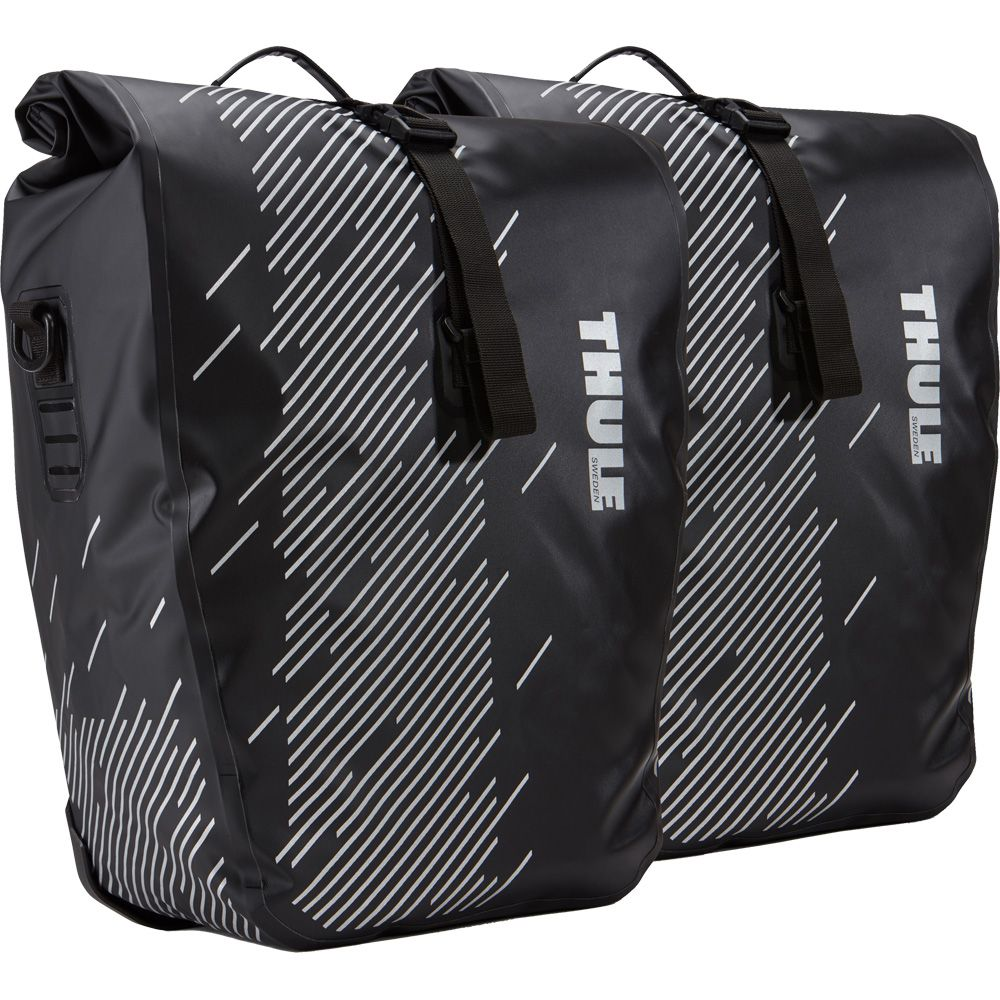 Thule Pack 'n Pedal Shield Pannier Large black at Sport