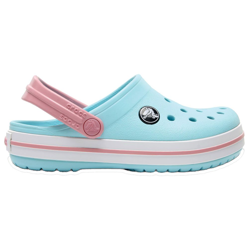 separation shoes bde3c c0290 Crocs - Crocband Kinder ice blue white